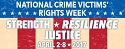 National Crime Victims' Rights Week - April 2 - 8, 2017